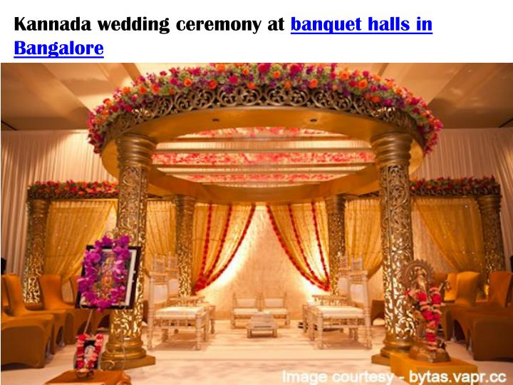 Kannada wedding ceremony at
