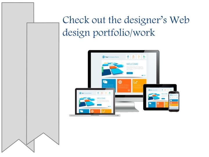 Check out the designer s web design portfolio work