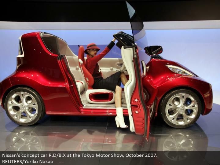 Nissan's idea auto R.D/B.X at the Tokyo Motor Show, October 2007. REUTERS/Yuriko Nakao