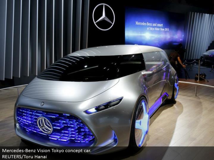 Mercedes-Benz Vision Tokyo idea auto. REUTERS/Toru Hanai