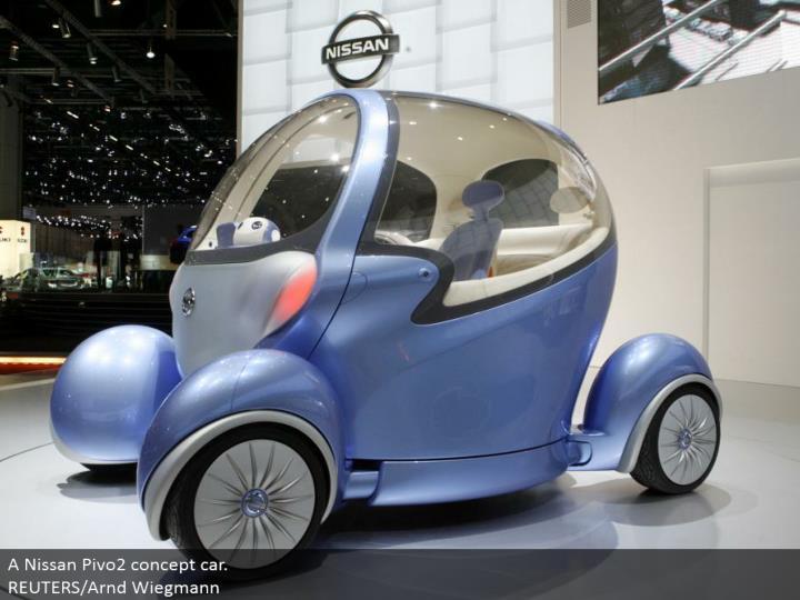 A Nissan Pivo2 idea auto. REUTERS/Arnd Wiegmann