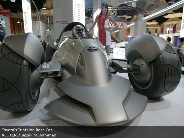 Toyota's Triathlon Race Car. REUTERS/Bazuki Muhammad