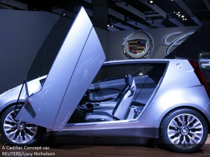 A Cadillac Concept auto. REUTERS/Lucy Nicholson