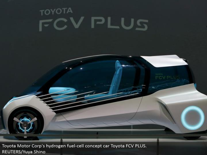 Toyota Motor Corp's hydrogen energy unit idea auto Toyota FCV PLUS. REUTERS/Yuya Shino