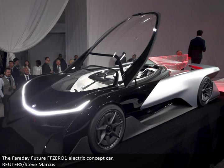 The Faraday Future FFZERO1 electric idea auto. REUTERS/Steve Marcus