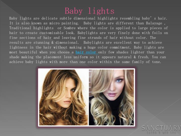 Baby lights