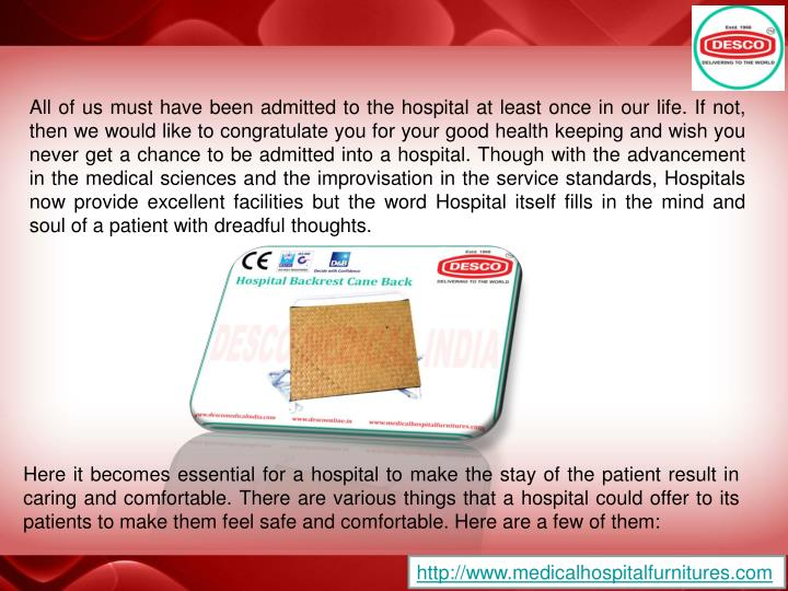 All of us must have been admitted to the hospital at least once in our life. If not, then we would l...
