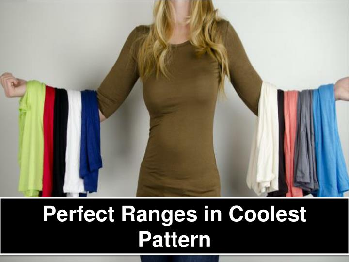 Perfect Ranges in Coolest Pattern