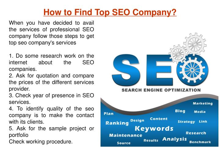 How to Find Top SEO Company?