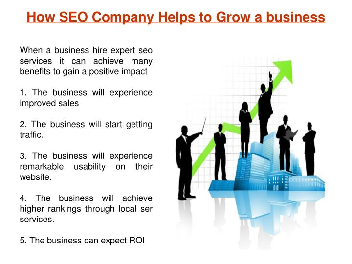 How SEO Company Helps to Grow a business