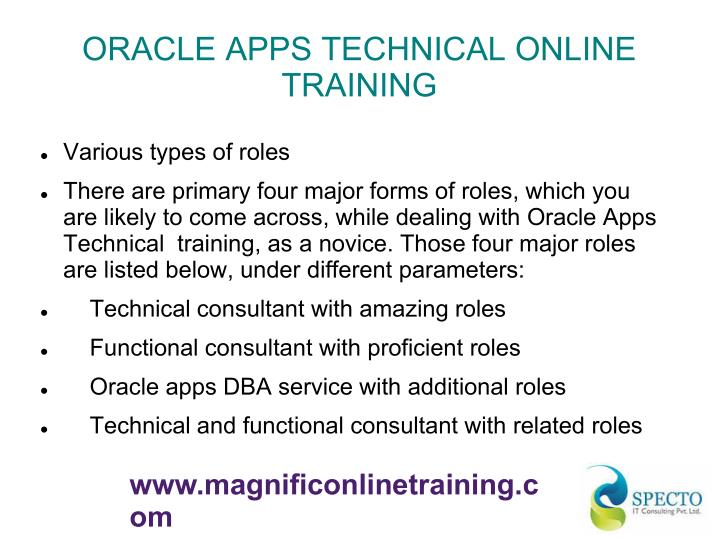 ORACLE APPS TECHNICAL ONLINE