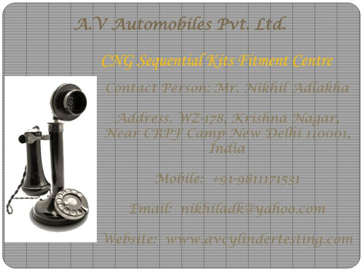 A.V Automobiles Pvt. Ltd.
