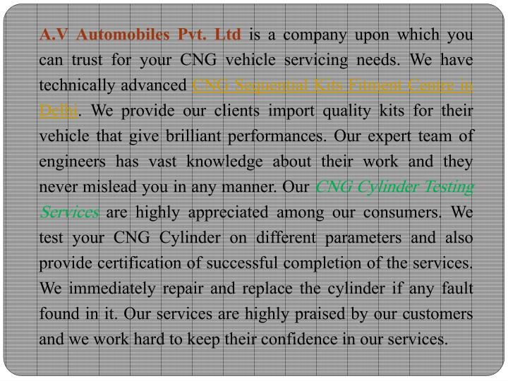 A.V Automobiles Pvt. Ltd