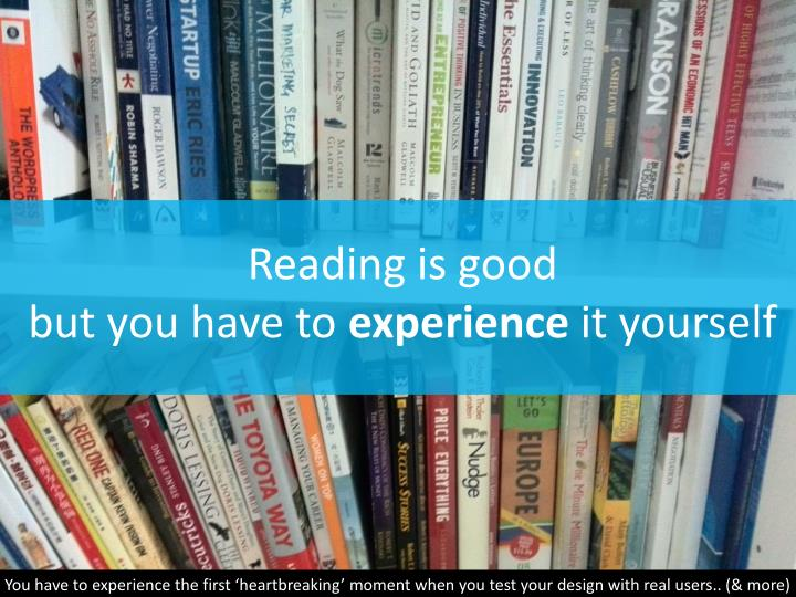Reading is good