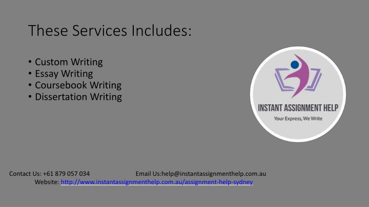 These Services Includes: