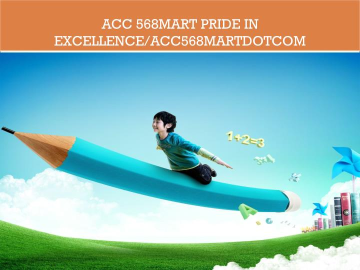 ACC 568MART Pride In Excellence/acc568martdotcom