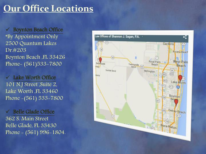 Our Office Locations