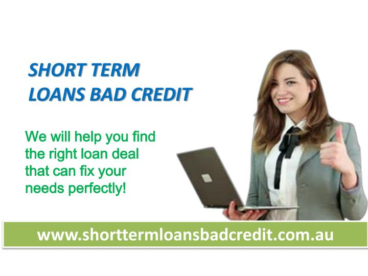 Short Term Loans For bad Credit - Emergency Cash Today