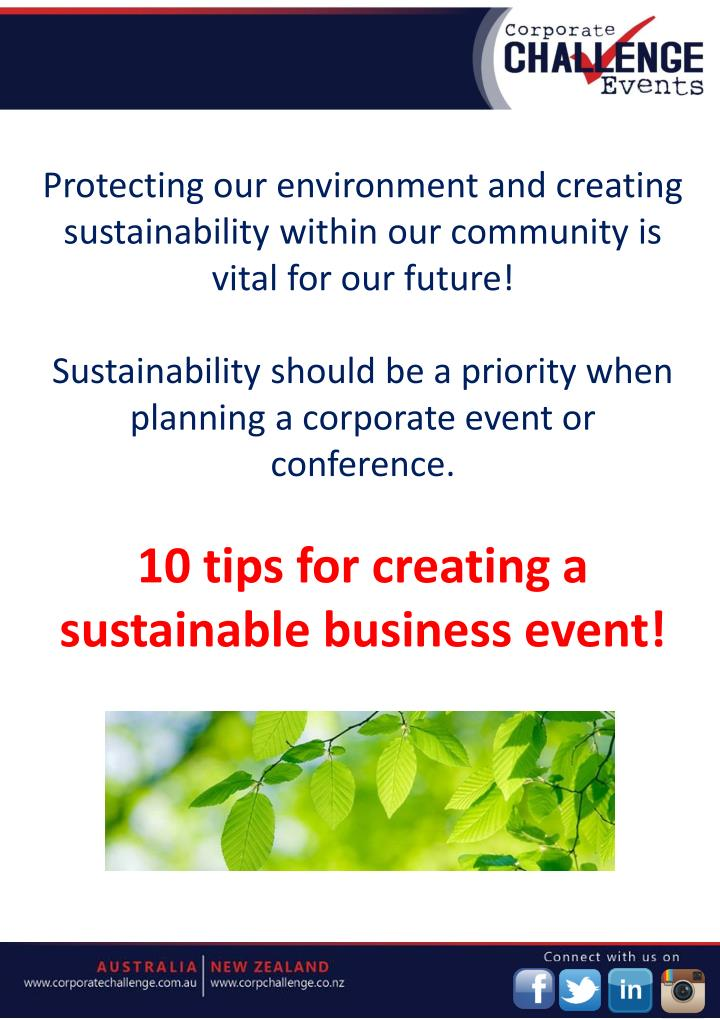 how to create a sustainable future