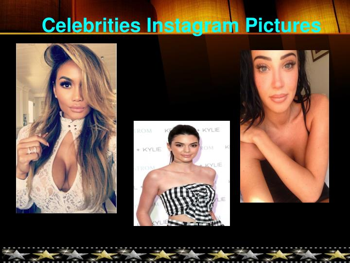 Celebrities Instagram Pictures