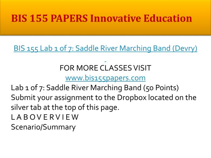 Bis 155 papers innovative education1