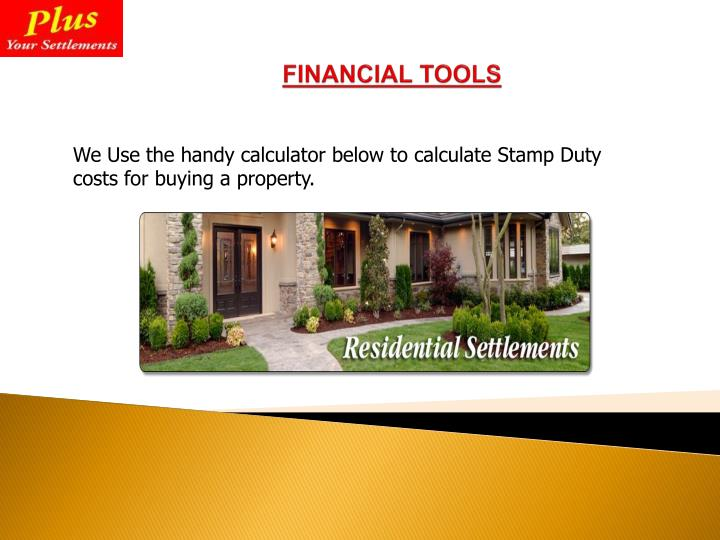 We Use the handy calculator below to calculate Stamp Duty costs for buying a property