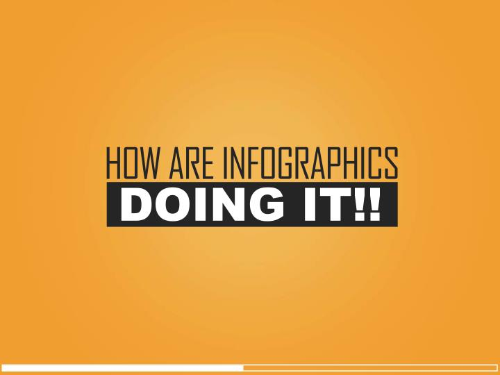 HOW ARE INFOGRAPHICS