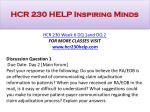 hcr 230 help inspiring minds13