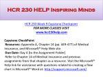 hcr 230 help inspiring minds19