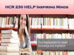 hcr 230 help inspiring minds20