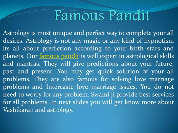 Astrology is most unique and perfect way to complete your all
