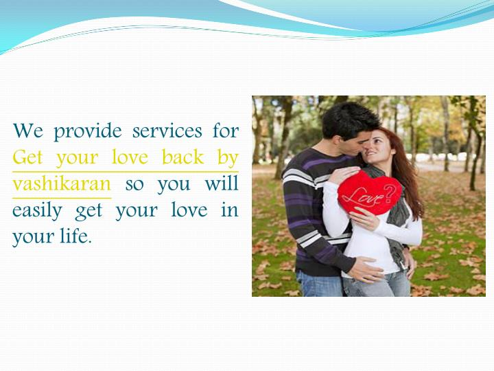 We provide services for