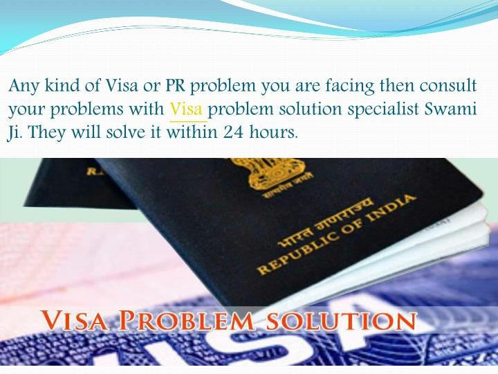 Any kind of Visa or PR problem you are facing then consult