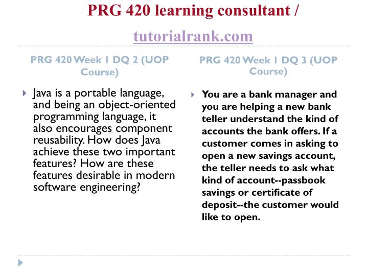 Prg 420 learning consultant tutorialrank com2