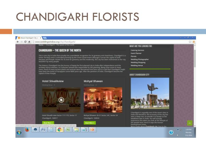 CHANDIGARH FLORISTS