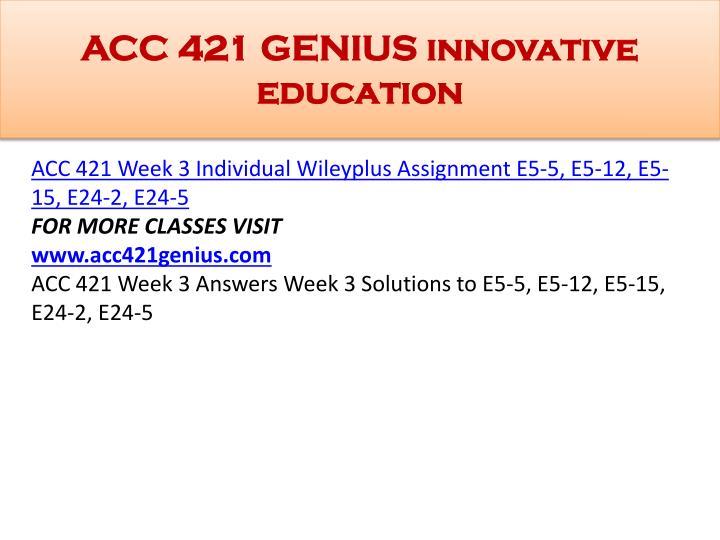 Acc 421 full disclosure paper