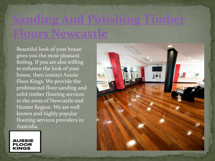 Sanding And Polishing Timber Floors Newcastle