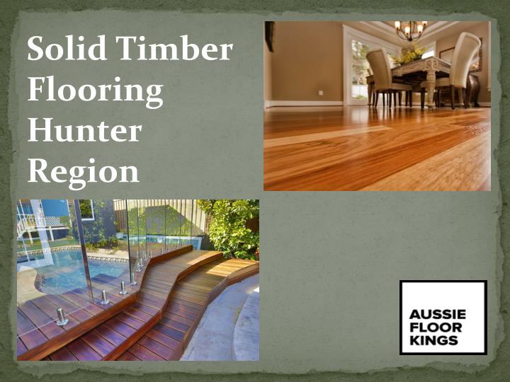 Solid Timber Flooring Hunter Region