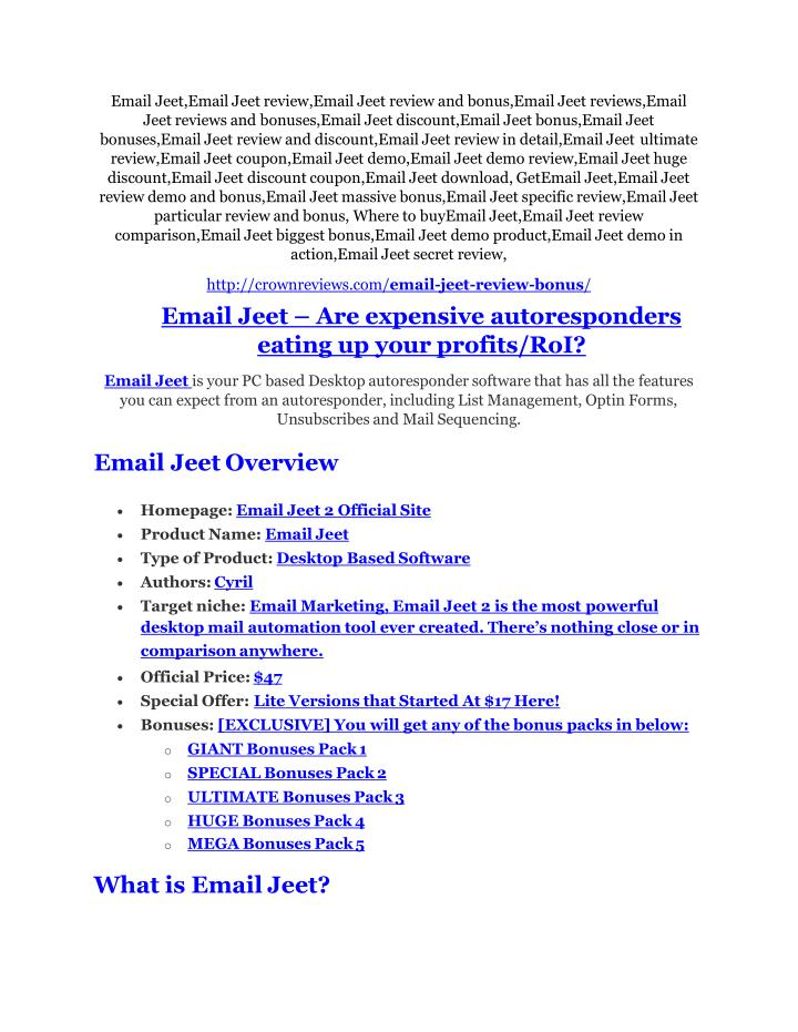Email Jeet,Email Jeet review,Email