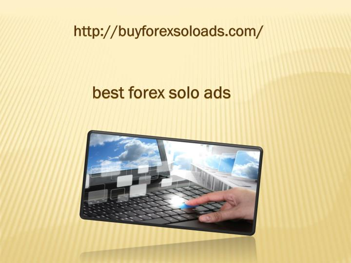 Forex solo ads