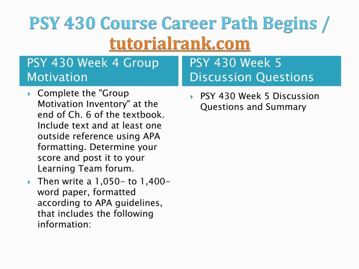 psy 430 team simulation We offer ops 571 week 1, week 2, week 3, week 4, week 5 individual and team assignments and here also find ops 571 dq and entire course study materials.