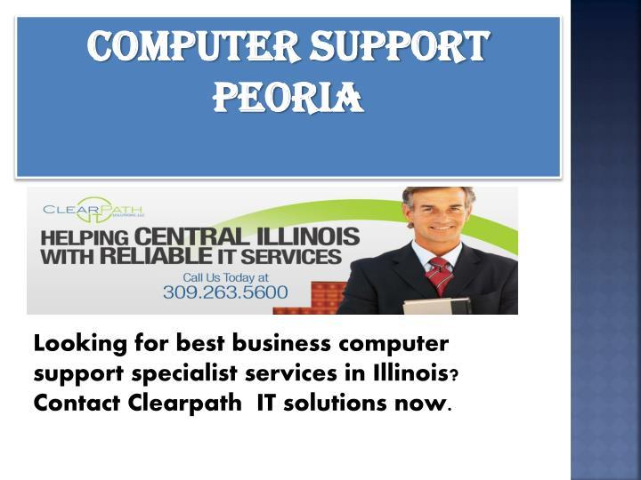 computer support Peoria