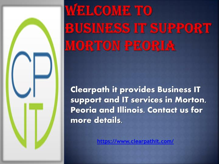 Welcome to business it support morton peoria