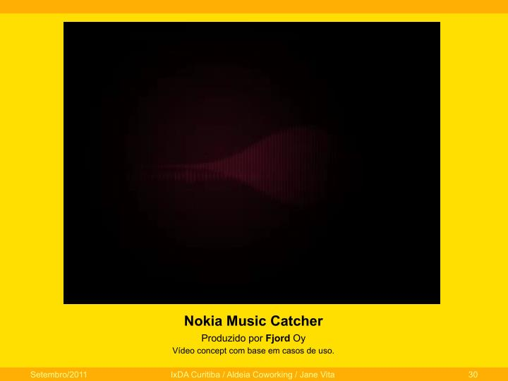 Nokia Music Catcher