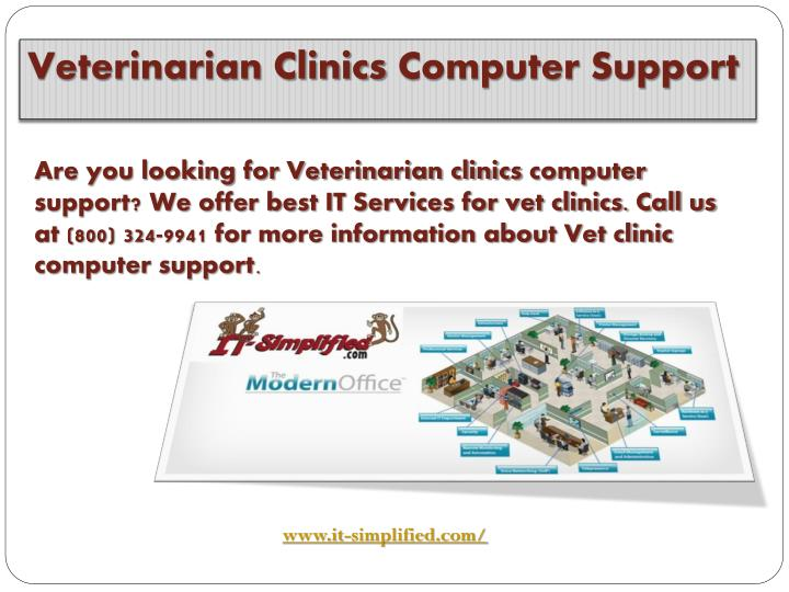 Veterinarian Clinics Computer Support