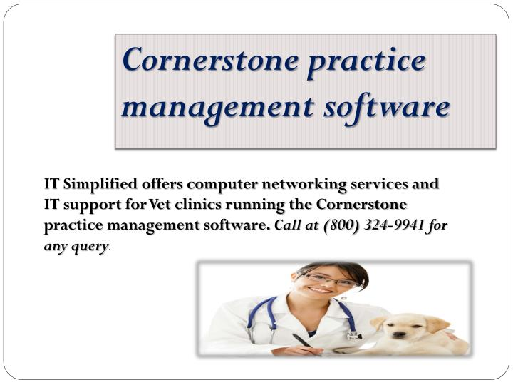 Cornerstone practice management software