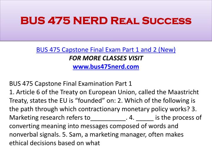 Bus 475 nerd real success1