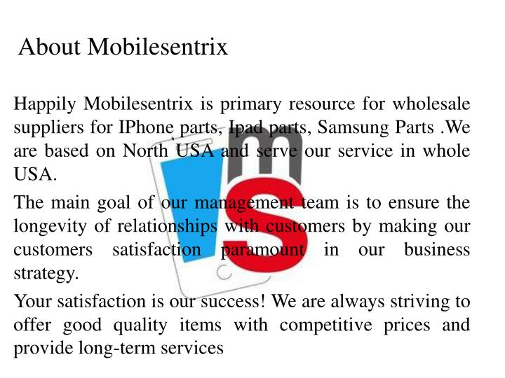 About Mobilesentrix