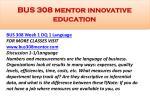 bus 308 mentor innovative education1