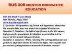 bus 308 mentor innovative education17